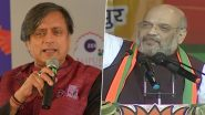 Shashi Tharoor Takes Jibe at Amit Shah's 'Congress Responsible For Partition' Remark, Says 'He Didn't Pay Attention in History Class'