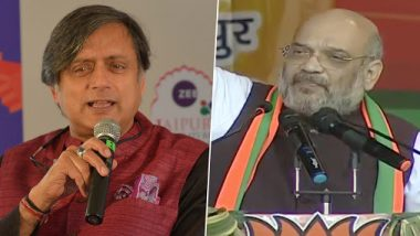 Shashi Tharoor Makes Scathing Jibe on Amit Shah's Partition Assertion at Congress During CAB 2019 Debate, Says 'He Didn't Pay Attention in History Class'