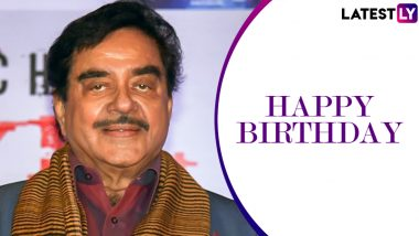 Shatrughan Sinha Birthday Special: 10 Dialogues of Shotgun Sinha That Will Make You Go 'Khamosh!' With Their Badassery!