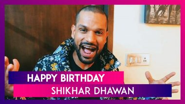 Shikhar Dhawan Birthday Special: 7 Little-Known Things About the Gabbar of Indian Cricket Team