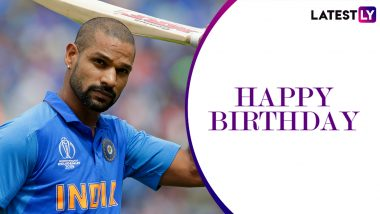Shikhar Dhawan Family Photos With Wife Ayesha Mukherjee, Daughters Rhea-Aliyah and Son Zoravar Are Must-See On His 34th Birthday!