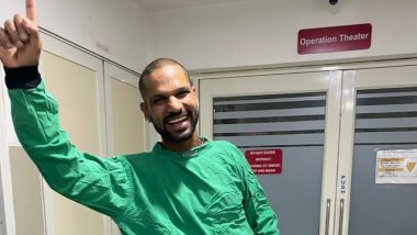 Shikhar Dhawan Shows Off His Dance Moves In Between His Gym Workout (Watch Video)