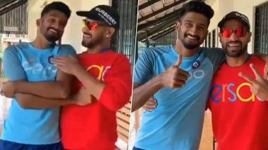 Shikhar Dhawan and Khaleel Ahmed Thank Fans For Their Birthday Wishes in Most Hilarious Manner (Watch Video)