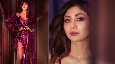 Pink, Shimmer, Glimmer, SLAY – Shilpa Shetty Kundra Is a Delight in Yousef Akbar Couture!