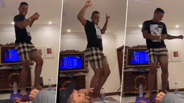 Shimron Hetmyer Grooves to Delhi Capitals' Official Theme Song After Bagging 7.5 Crores From the Franchise in IPL 2020 Player Auction (Watch Video)