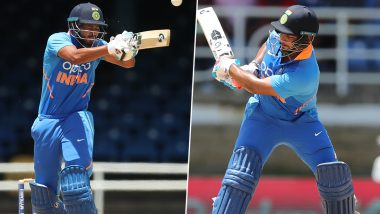 IND vs WI 1st ODI 2019: Shreyas Iyer, Rishabh Pant Shine As India Post 287/8