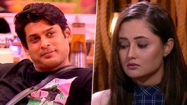 Bigg Boss 13: Did Sidharth Sukla Get Abusive and Call Rashami Desai a 'B*tch'? (Watch Video)