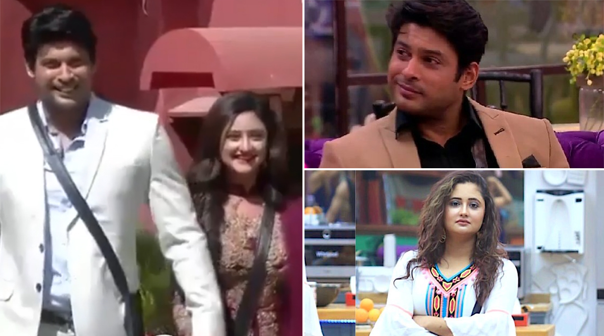 Bigg Boss 13: Major Throwback to the Time When Rashami Desai and Sidharth Shukla Entered The Show Holding Hands (Watch Video)