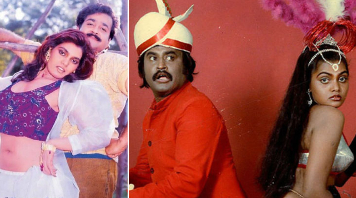 Silk Smitha Birth Anniversary: From Rajinikanth to Mohanlal, Actors with Whom This Controversial Beauty of South Indian Cinema Shared Screen Space