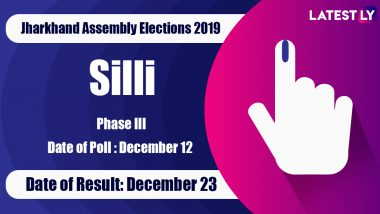 Silli Vidhan Sabha Constituency Result in Jharkhand Assembly Elections 2019: Sudesh Kumar Mahto of AJSU Wins MLA Seat