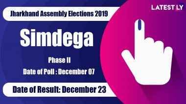 Simdega Vidhan Sabha Constituency in Jharkhand: Sitting MLA, Candidates For Assembly Elections 2019, Results And Winners