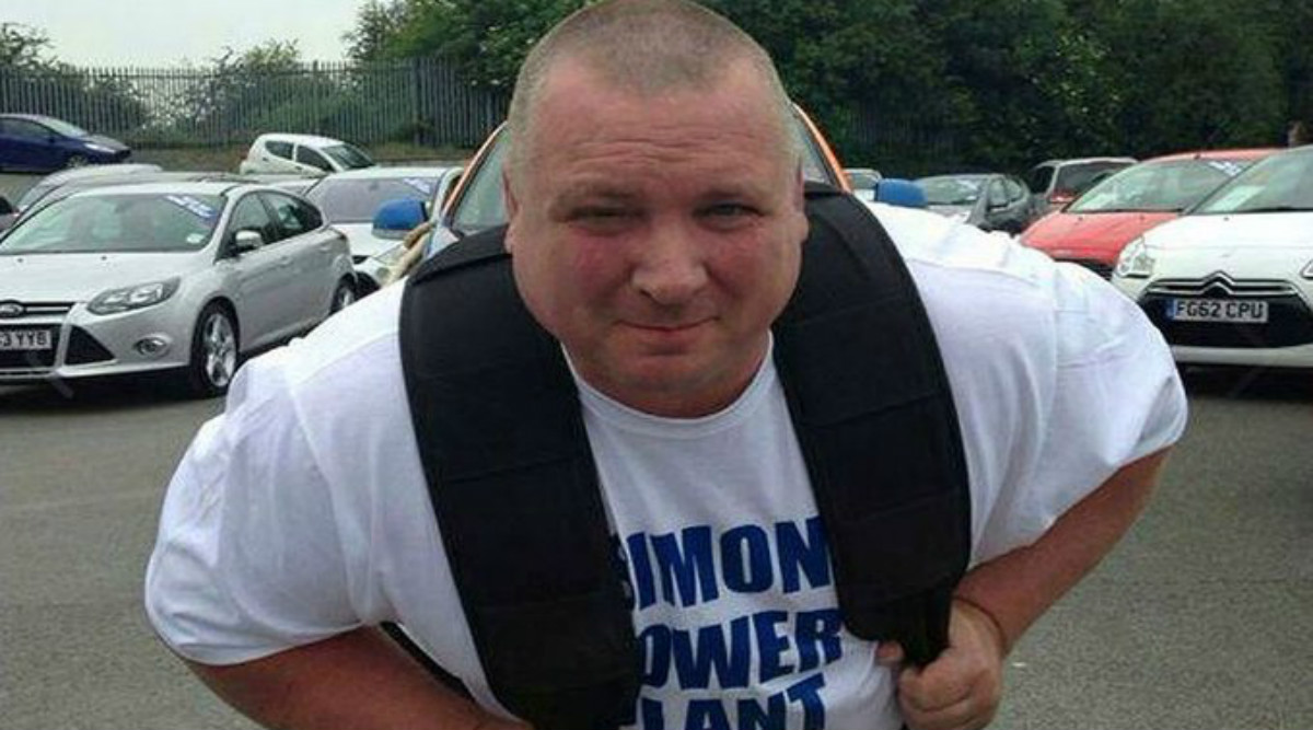 Simon 'Power' Plant, UK Strongman With 14 World Records Dies at 47