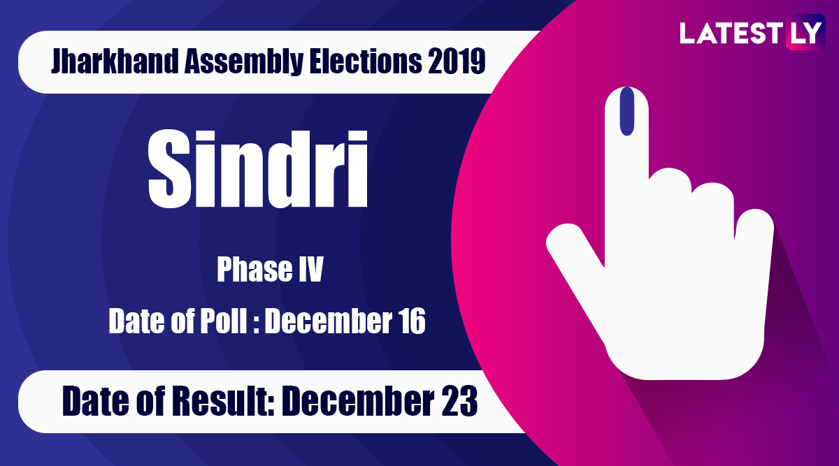 Sindri Vidhan Sabha Constituency Result in Jharkhand Assembly Elections 2019: Indrajit Mahato of BJP Wins MLA Seat