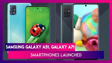 Samsung Galaxy A51 With Quad Camera & Punch-Hole Display Launched; Prices, Features, Variants & Specifications