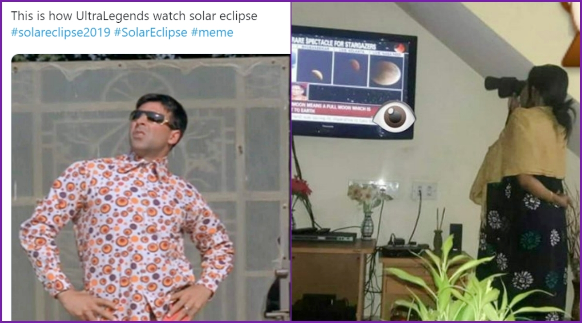 Solar Eclipse 2019 Funny Memes and Jokes Trend Online as Last Surya Grahan of The Year Takes Place in December