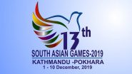 South Asian Games 2019 Closing Ceremony Free Live Streaming Online & Time in IST: How to Watch Live Telecast of in India and Nepal