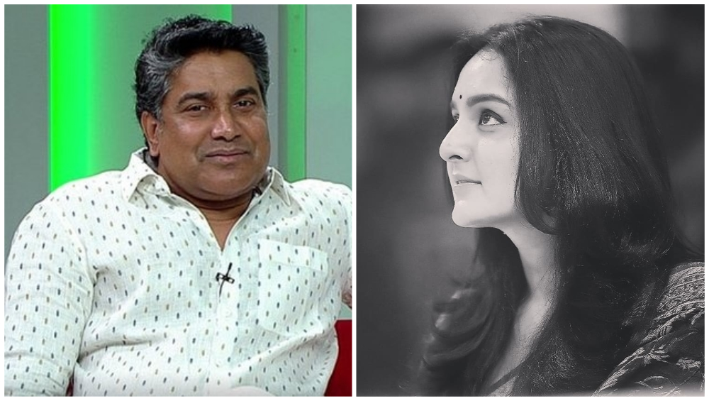 Malayalam Filmmaker Sreekumar Menon Gets Arrested After a Complaint Filed by Actress Manju Warrier