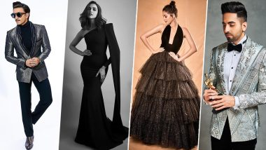 Star Screen Awards 2019 Best Dressed: Ranveer Singh, Deepika Padukone, Ananya Panday, Ayushmann Khurrana Impress Us With Their Outstanding Fashion Statements!