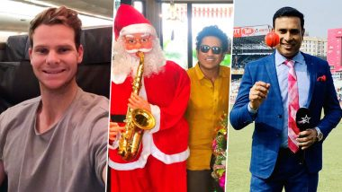 Sachin Tendulkar, Steve Smith, VVS Laxman and Other Cricket Personalities Wish Merry Christmas 2019 To Everyone (See Posts)
