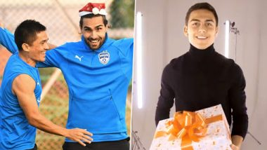 Sunil Chhetri, Paulo Dybala and Other Football Superstars Wish Merry Christmas 2019 to Everyone (See Posts)