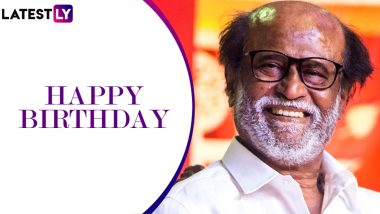 Rajinikanth Birthday: Thalaiva Is the Pillar of Strength to His Family and These 15 Pics Are Enough to Prove