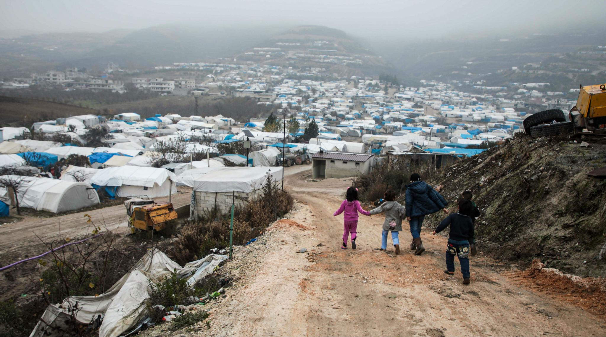 UN: More Than 235,000 Flee Northwest Syria Amid Russian Attacks