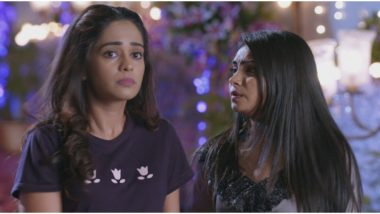 Kumkum Bhagya January 8, 2020 Written Update Full Episode: Abhi Spots Pragya at the College, While Rhea Informs Her About Prachi's Leaked MMS