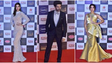Star Screen Awards 2019 Red Carpet: Kriti Sanon, Kartik Aaryan, Bhumi Pednekar Arrive in Style (View Pics)