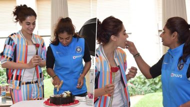 Shabaash Mithu: Taapsee Pannu Confirms Working on Mithali Raj Biopic on the Latter's Birthday