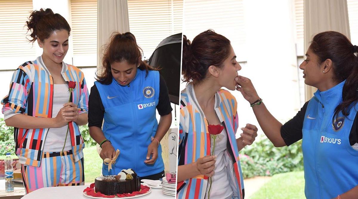 Shabaash Mithu: Taapsee Pannu Confirms Working on Mithali Raj Biopic on the Latter's Birthday