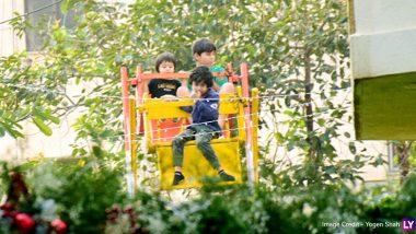 Taimur Ali Khan Enjoys Mini Ferris Wheel Ride With Friends At His Party Ahead of Third Birthday! (View Pics)