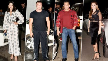 Sunny Leone, Salman Khan, Iulia Vantur and Others Make a Stylish Entry At Sohail Khan's Birthday Bash (View Pics)