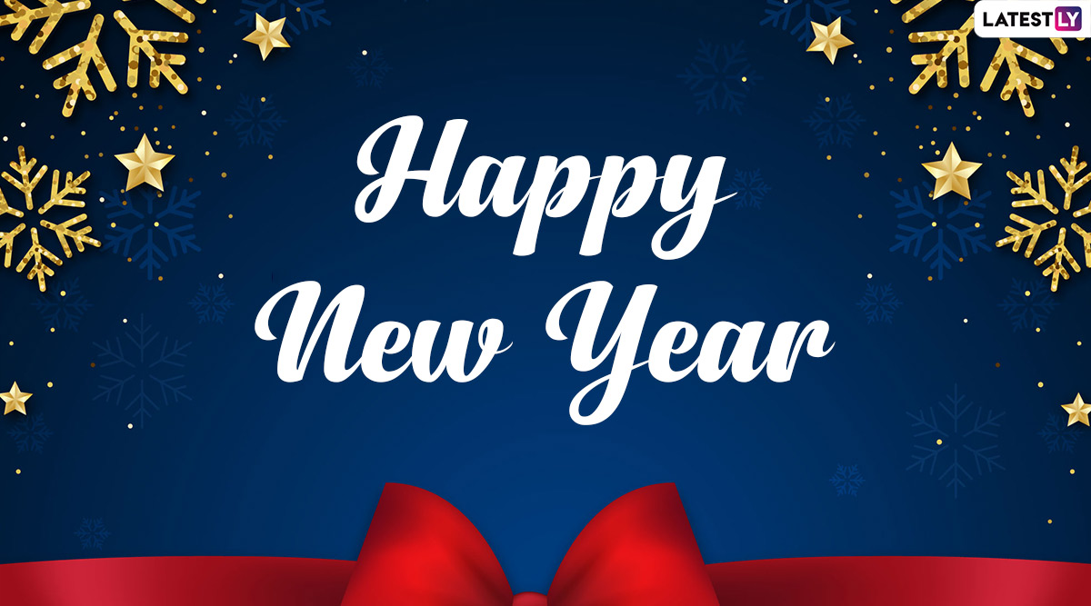 Happy New Year 2020 HD Images and Greeting Cards: WhatsApp Stickers, Hike GIF Messages, Facebook Quotes, Insta Captions and SMS Templates to Send on New Year's Eve