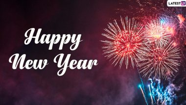 Happy New Year 2020 Wishes & WhatsApp Messages: GIF Greetings, HNY Stickers, Facebook Images, Insta Captions and SMS Templates to Send on New Year's Eve