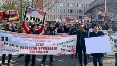US: Rally Outside Pakistan Embassy Against Islamabad Sponsored Terrorism