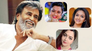 Thalaivar 168 Cast: Meena, Keerthy Suresh, Khushbu Join Rajinikanth Starrer; View Pics from Puja Ceremony