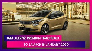 Tata Altroz Launching In India Next Month; To Take On Maruti Suzuki Baleno & Hyundai i20
