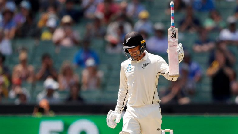 Tom Blundell Makes a Touching Gesture After Scoring Century in Australia vs New Zealand Boxing Day Test 2019