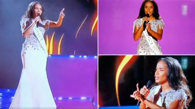 Miss World 2019 Winner Toni-Ann Singh of Jamaica Sang a Beautiful Rendition of Whitney Houston's 'I Have Nothing' on Stage, Watch Emotional Video