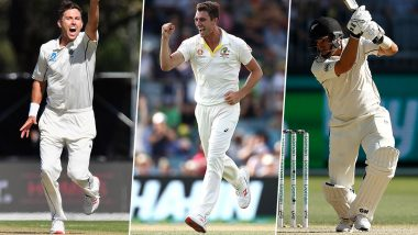 Australia vs New Zealand, Boxing Day Test 2019, Key Players: Trent Boult, Pat Cummins, Ross Taylor and Other Cricketers to Watch Out for in Melbourne
