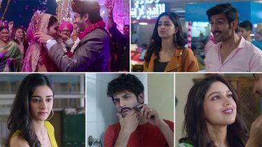 Tu Hi Yaar Mera Song: Kartik Aaryan Romances Bhumi Pednekar and Ananya Panday in This New Love Ballad (Watch Video)