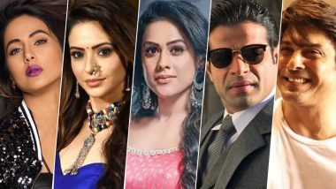 Year Ender 2019: From Hina Khan, Aamna Sharif, Nia Sharma to Karan Patel, Sidharth Shukla, Meet the Biggest Newsmakers From the World of TV!