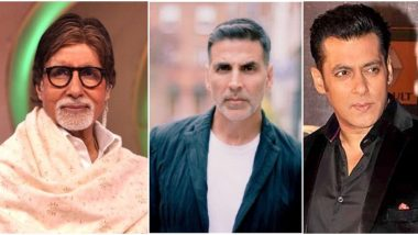Most Tweeted Handles in Entertainment 2019 Male: Amitabh Bachchan, Akshay Kumar, Salman Khan & Other Top Male Twitter Profiles in India