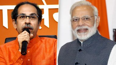 Maharashtra CM Uddhav Thackeray to Meet PM Narendra Modi in New Delhi on Friday