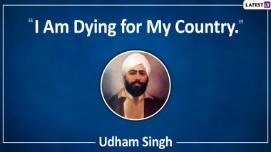 Udham Singh Quotes & HD Images to Observe Indian Revolutionary's 120th Birth Anniversary