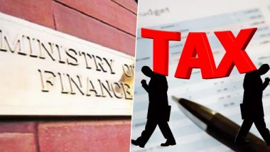 Union Revenue Department Issues Guidelines For Income Tax Officials, Asks Them to Achieve Direct Tax Collection Target of Rs 13.5 lakh Crores
