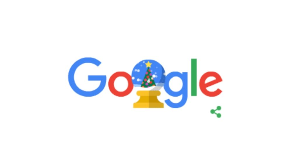 Holiday Season Google Doodle Marks Christmas Eve! Search Engine Wishes 'Happy Holidays 2019' In This Cute Animation Featuring Santa Claus Riding His Sleigh
