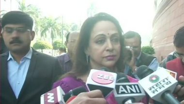 Hyderabad Vet Rape & Murder Case: Hema Malini Says 'Rapists Should Be Kept in Jail Permanently'