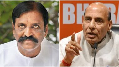 Defense Minister Rajnath Singh Cancels His Visit to Confer Doctorate to #MeToo Accused Vairamuthu After Facing Backlash?