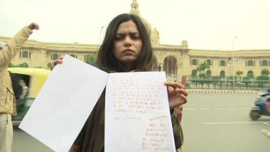 Vartika Singh, International Shooter, Wants to be Hangwoman For Nirbhaya Rapists, Writes Letter to Amit Shah in Blood